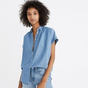 Madewell | Oversized Chambray Button Down Sz. xs